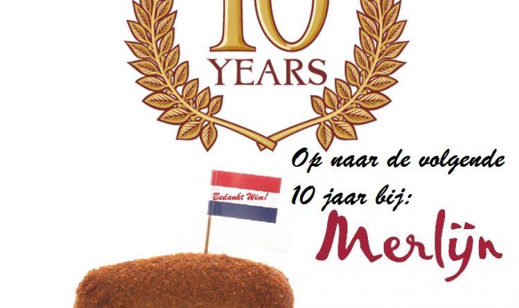 Foto-10 jarig jubilieum Wim-Merlijn Groep