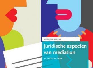 Cover - Juridische aspecten van mediation