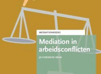 Cover - Mediation in arbeidsconflicten